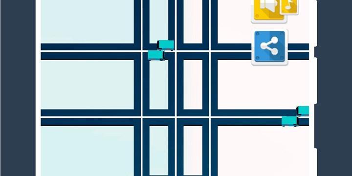 Trafik yönettiğiniz ücretsiz bulmaca oyunu Don't Crash, Android için çıktı
