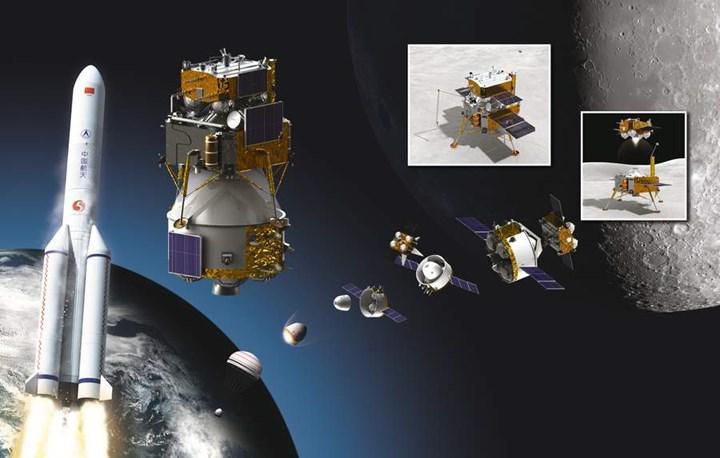 Çin, Ay'da tarih yazmaya gidiyor: Chang'e 5 görevi resmen başladı