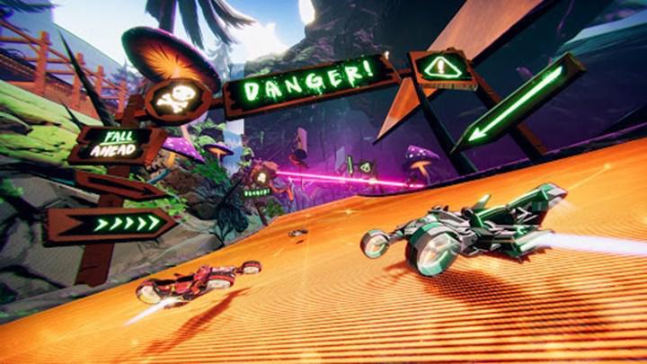 Arcade yarış oyunu Warp Drive, 27 Kasım'da Apple Arcade'e geliyor