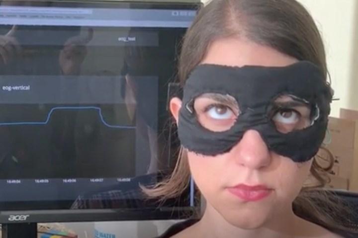 Göz hareketlerini monitörize edebilen maske geliştirildi
