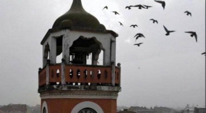 Bursa'da Abdülhamid döneminden kalma saat restore edildi
