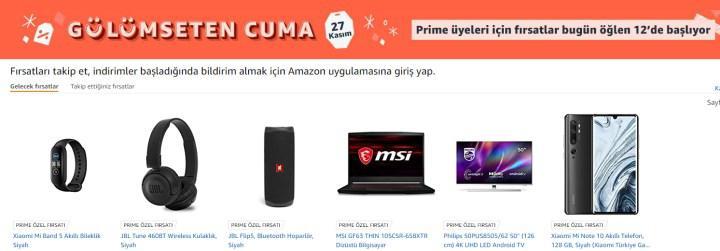 Amazon'da Black Friday indirimine giren telefon ve telefon aksesuarları