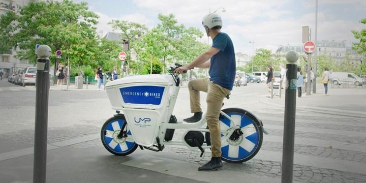 Elektrikli bisikletler ilk yardım aracı olarak göreve hazır