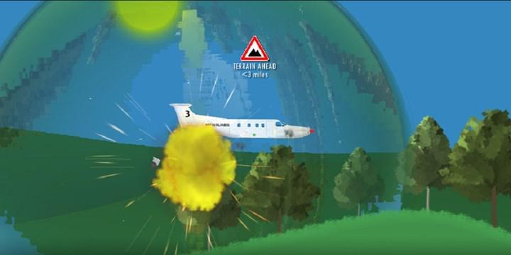 2 boyutlu uçak simülasyon oyunu 'Flight Simulator 2D' mobil cihazlar için ücretsiz olarak yayınlandı