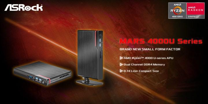ASRock en ince AMD mini bilgisayarını tanıttı