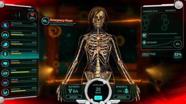 Simülasyon oyunu Bio Inc. Redemption, Aralık'ta mobil cihazlara geliyor