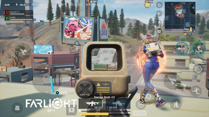 Battle Royale türündeki Farlight 84, mobil cihazlar için duyuruldu