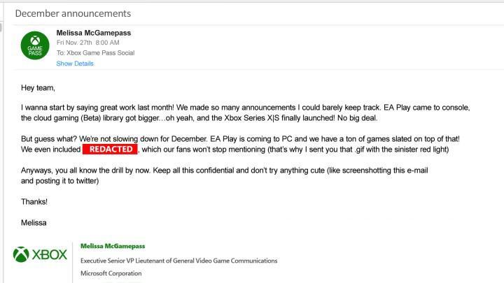 Geçtiğimiz yılın sevilen oyunu Control, Aralık'ta Xbox Game Pass'e gelebilir