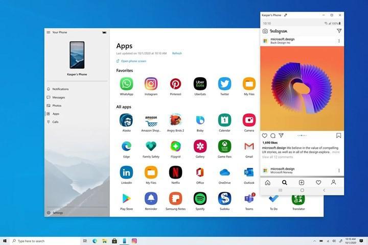 Android uygulamaları Windows 10 platformuna geliyor (Yeniden)