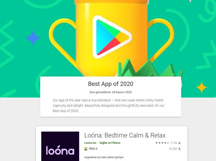 Karşınızda 2020 yılının en iyi Google Play uygulamaları