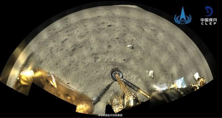Chang'e 5'in Ay'a iniş anlarından müthiş video