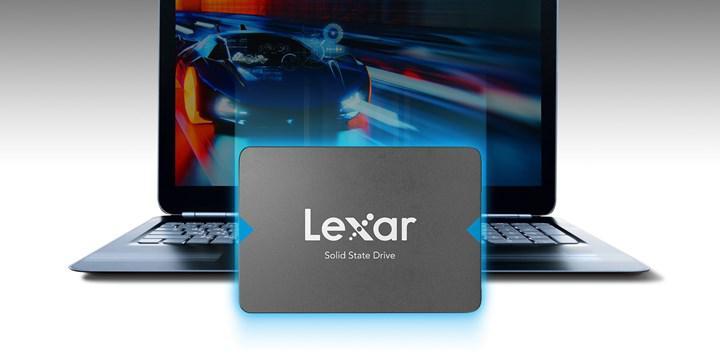 Kolay yükseltme için Lexar 2.5 inç SSD sürücüsü tanıtıldı