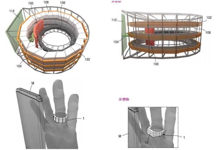 Samsung parmak hareketinizle kablosuz şarj üretecek