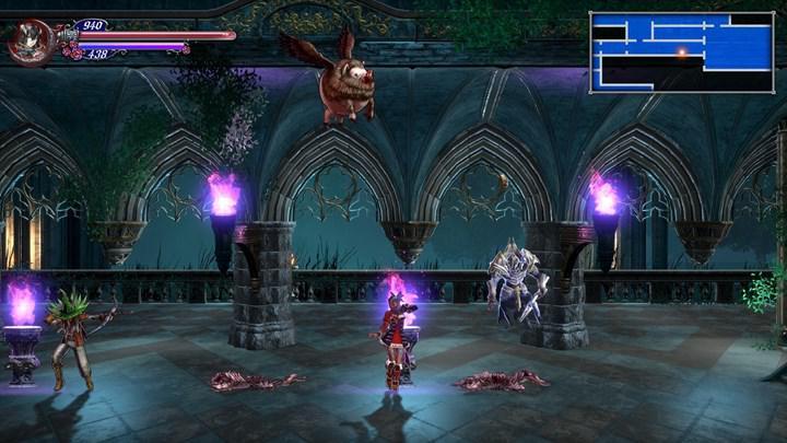 Metroidvania RPG türündeki Bloodstained: Ritual of the Night, mobil cihazlar için çıktı