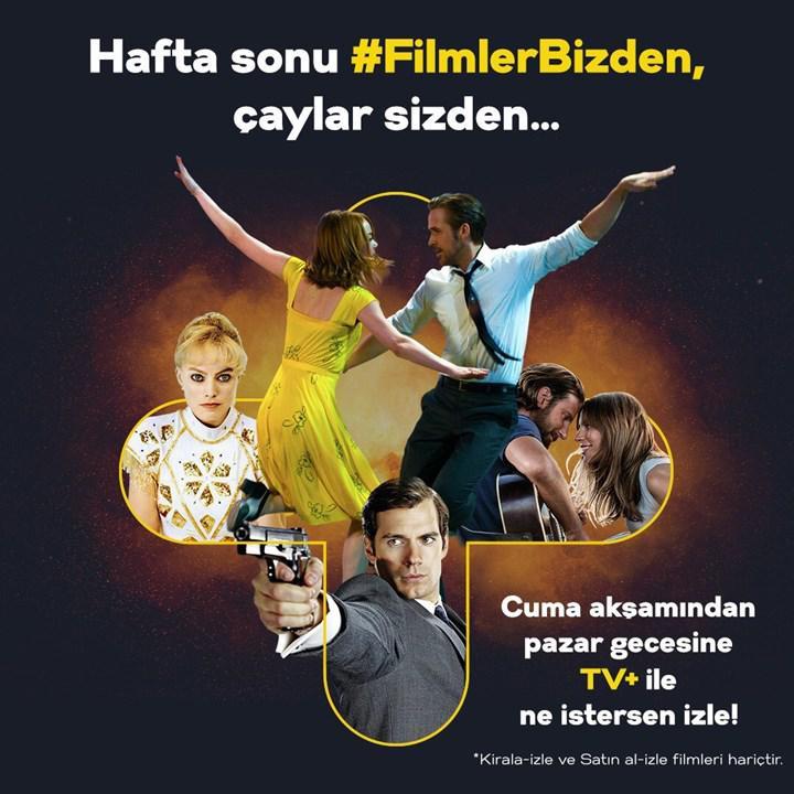 Turkcell TV+ bu hafta sonu herkese ücretsiz