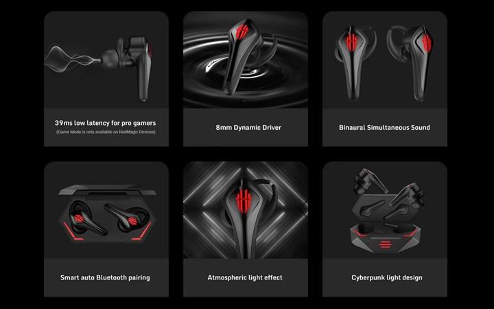 RedMagic Cyberpods oyuncu kulaklıkları satışa başladı