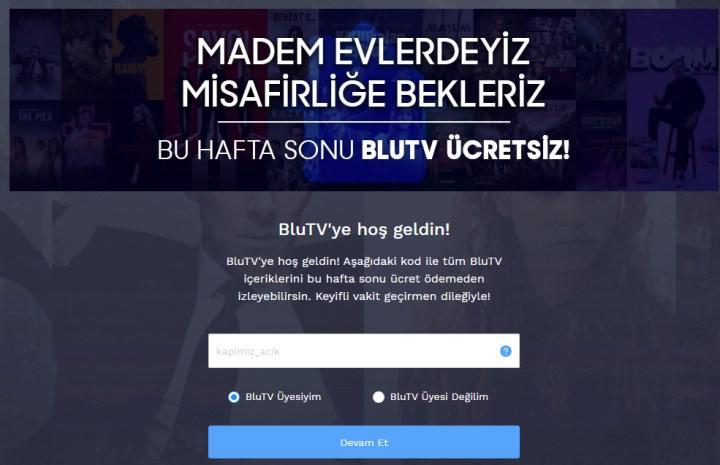 BluTV ücretsiz olarak nasıl izlenir?