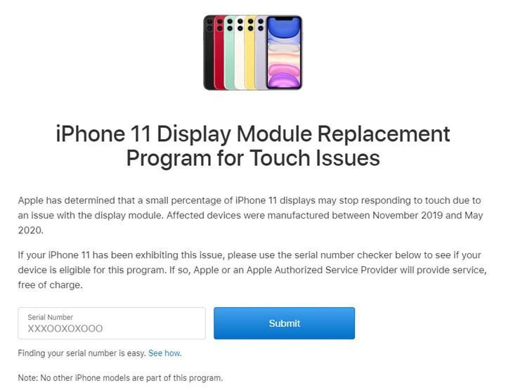 Apple, iPhone 11'lerin ekranını ücretsiz değiştirecek