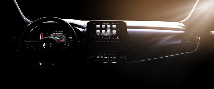 Yeni Nissan Qashqai'nin iç mekanını gösteren resmi görseller paylaşıldı