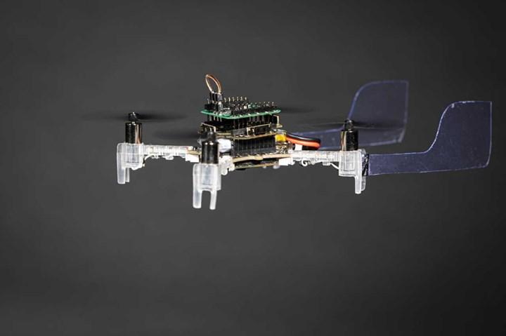 Smellicopter canlı güve antenleri ile tespit yapıyor