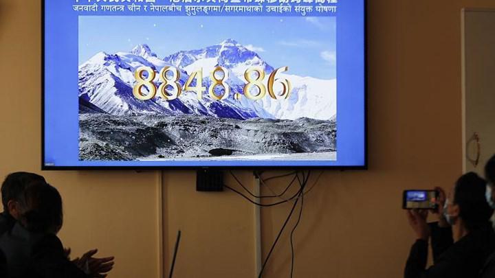 Everest Dağı'nın en son yapılan ölçümlerde 73 santim daha uzun olduğu belirlendi