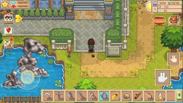 Stardew Valley benzeri oyun Harvest Town, iOS için yayınlandı