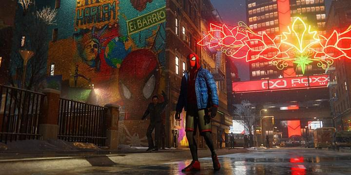 PS5 oyunu Marvel's Spider-Man: Miles Morales'e 60FPS ray tracing modu geldi