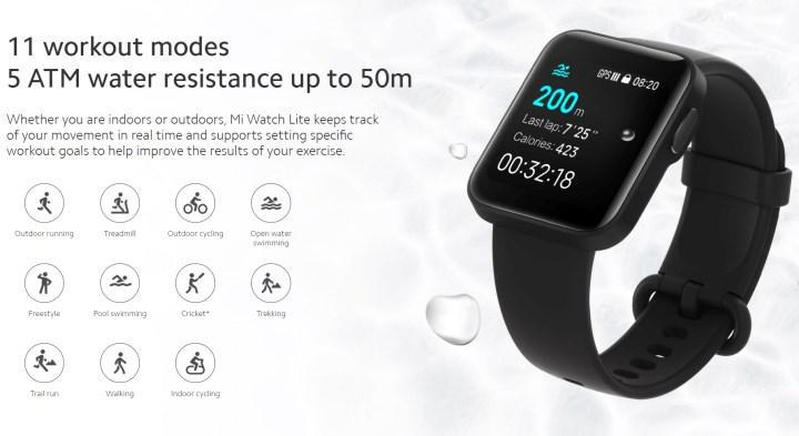 Apple Watch görünümlü Mi Watch Lite tanıtıldı