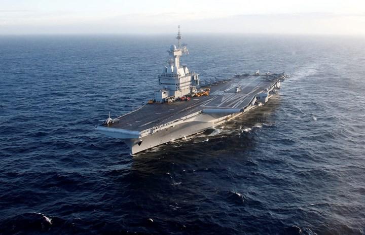Fransa'nın yeni nesil uçak gemisi de nükleer enerjiden güç alacak