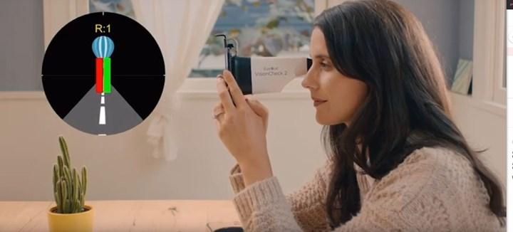 Evde göz testi yapabilecek cihaz ve akıllı telefon uygulaması geliştirildi