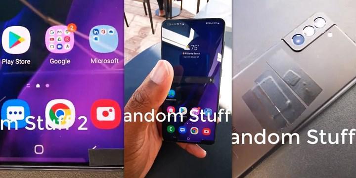 Ultra ince çerçeveli Samsung Galaxy S21 Plus çalışırken görüntülendi [Video]