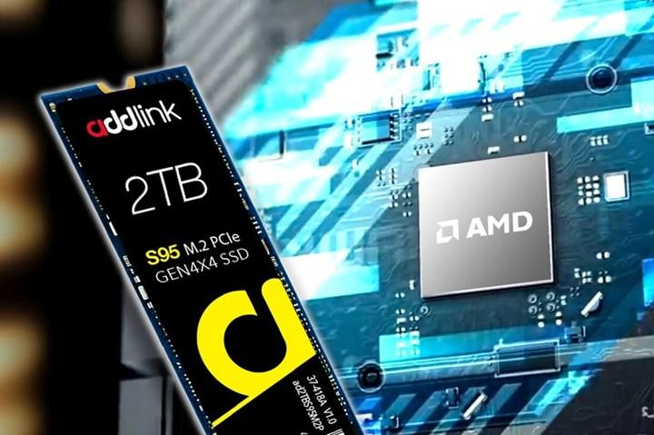 Addlink 7 GB/s'ye ulaşabilen S95 SSD'sini duyurdu