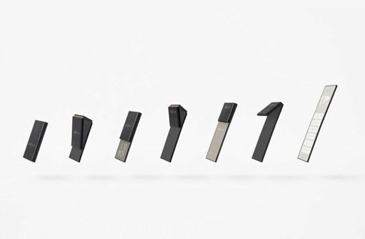 Oppo'dan ilginç bir katlanabilir akıllı telefon konsepti