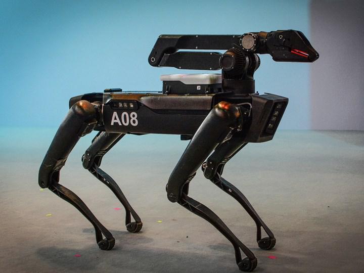 New York Polis Departmanı, uzayan kol eklentisine sahip robot köpek Spot'u test etmeye başladı
