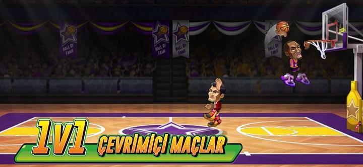 Kafa Topu 2'nin yapımcısı Masomo'dan yeni oyun: Basketball Arena