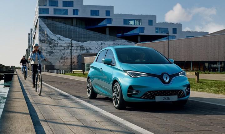 Yeni Renault ZOE, Avrupa'nın en çok satan elektrikli otomobili oldu