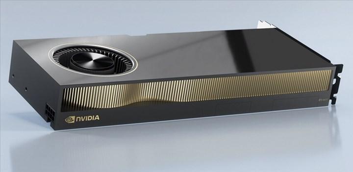 Nvidia RTX A6000 duyuruldu: Son kullanıcıda en hızlı Ampere kartı