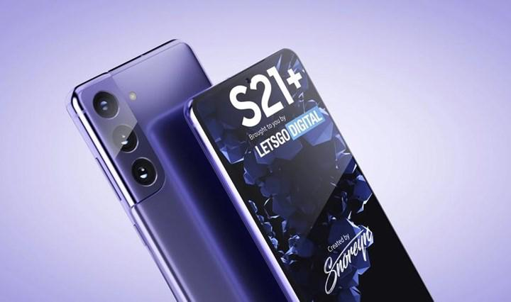 Samsung Galaxy S21'in ön panel görüntüsü ortaya çıktı