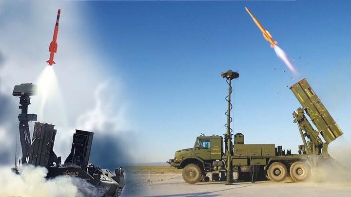 Son kabul testi yapılan milli ve yerli hava savunma sistemi HİSAR-A+, envantere girmeye hazır