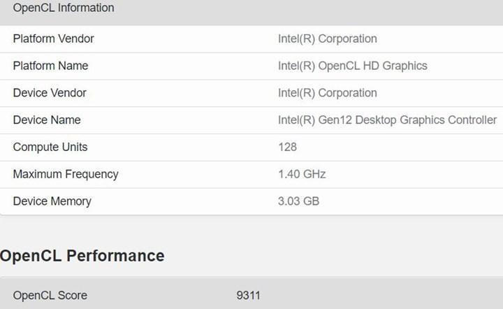 Intel'in 128 EU içeren harici ekran kartı gün yüzüne çıktı
