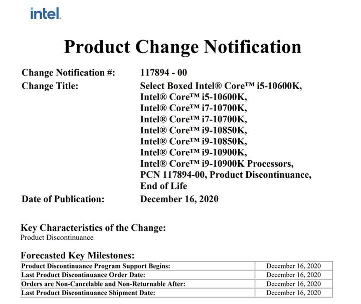 Intel Avengers Edition işlemcilerinin üretimini durdurdu