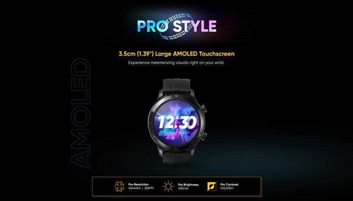 Realme, Watch S Pro akıllı saat modelinin özelliklerini resmi sitesinden açıkladı
