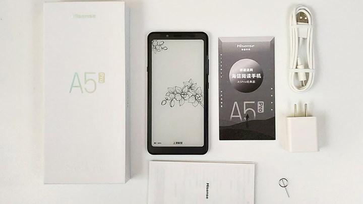 Hisense A7 akıllı telefonu e-ink ekranlı ve 5G destekli geliyor