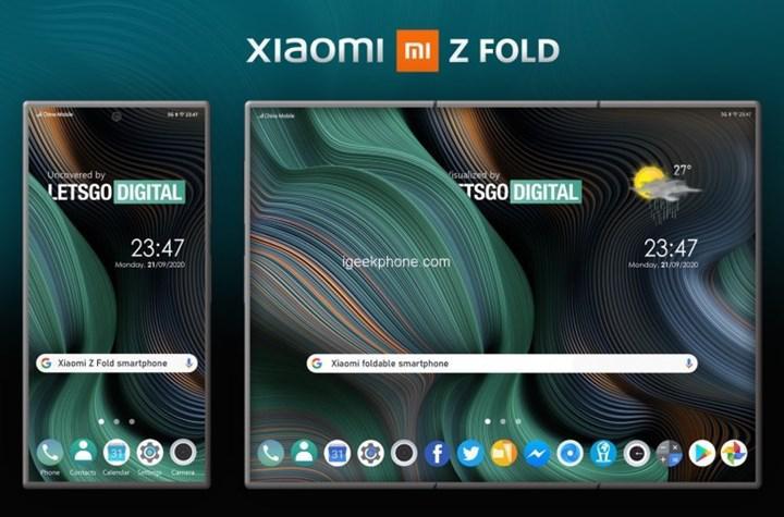 Xiaomi'nin ilk katlanabilir akıllı telefonu yolda