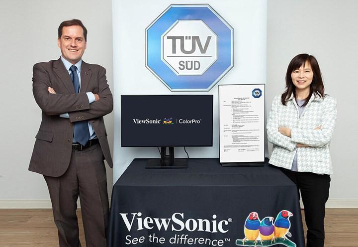 ViewSonic monitörleri renk körlüğü testlerine temel oluşturacak