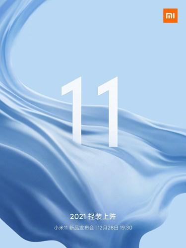 Xiaomi Mi 11 serisinin tanıtım tarihi açıklandı
