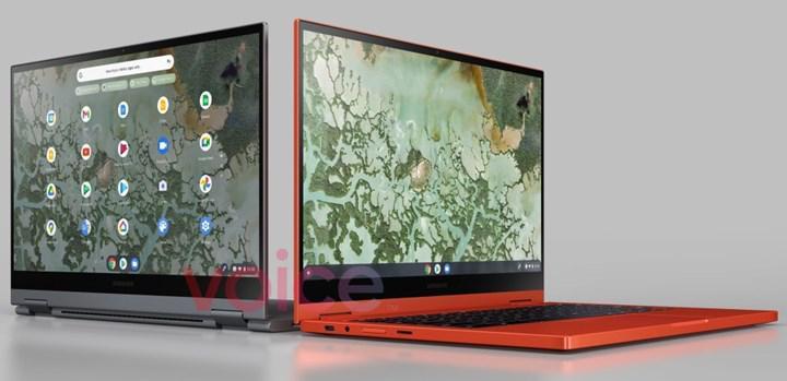 Samsung Galaxy Chromebook 2'nin sızdırılan görüntüsü, tasarım detaylarını ortaya koyuyor