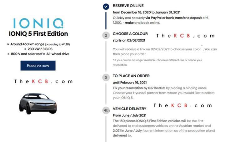 Hyundai'nin elektrikli otomobili Ioniq 5'in teknik detayları ortaya çıktı