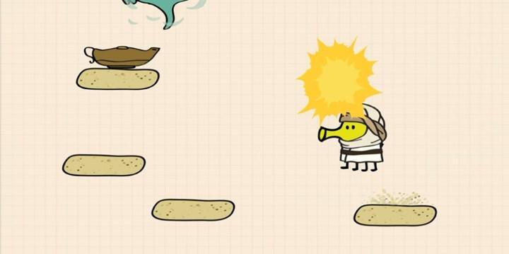 Popüler mobil oyun Doodle Jump'ın devam oyunu iOS için yayınlandı