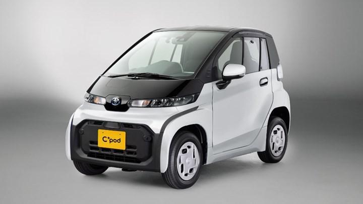 Toyota, iki kişilik kompakt elektrikli aracı C+Pod'u satışa sundu